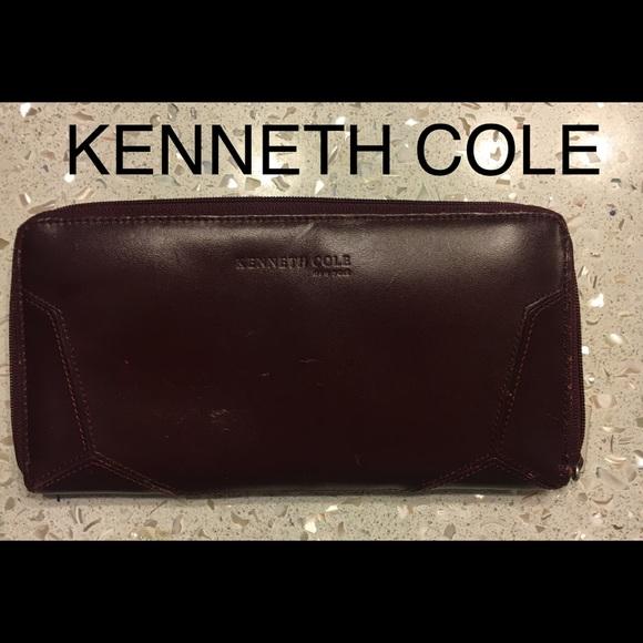 Kenneth Cole Handbags - Kenneth cole long wallet